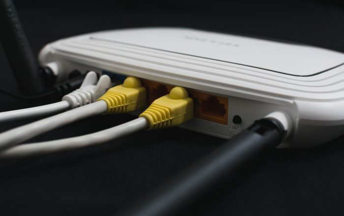 back image of a router